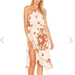 House of Harlow X Revolve Baye Midi Dress Poppy